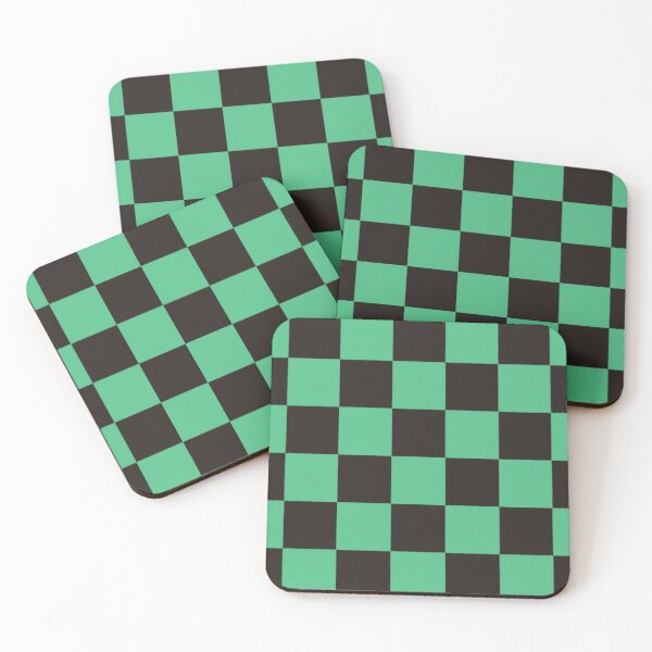 Tanjiro Demon Slayer Pattern Coasters (Set of 4)
