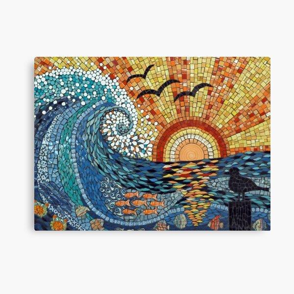 Sunset Wave Canvas Print