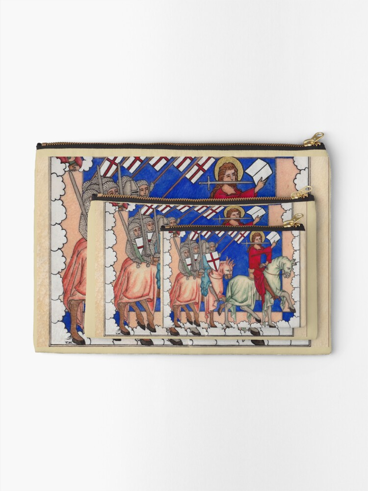 Alternate view of Medieval Crusaders Zipper Pouch