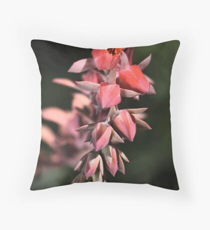 Cactus Bloom Throw Pillow
