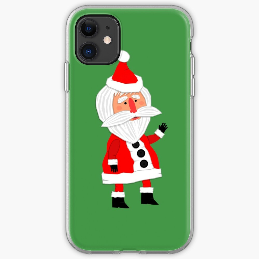 Hello, Father Christmas is coming! iPhone Case & Cover