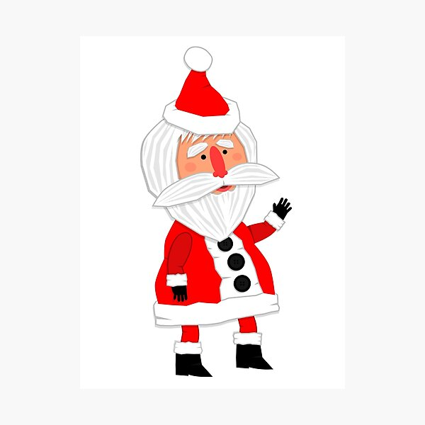 Hello, Father Christmas is coming! Photographic Print