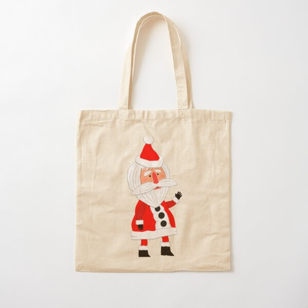 Hello, Father Christmas is coming! Cotton Tote Bag