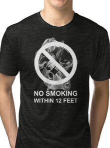 Respect My Choice Not To Smoke (imperial) Tri-blend T-Shirt