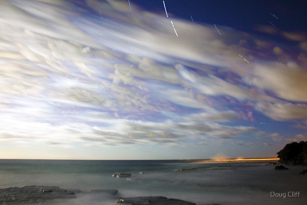 Star trails by Doug Cliff