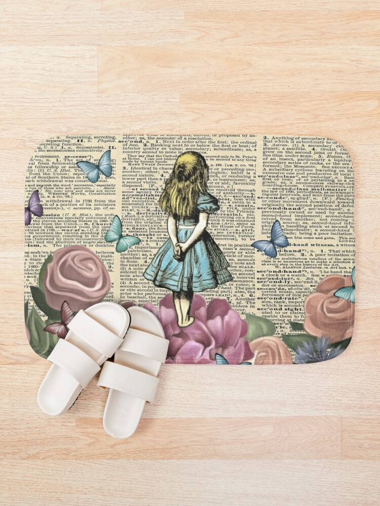 Alternate view of Alice In Wonderland - Wonderland Garden Bath Mat