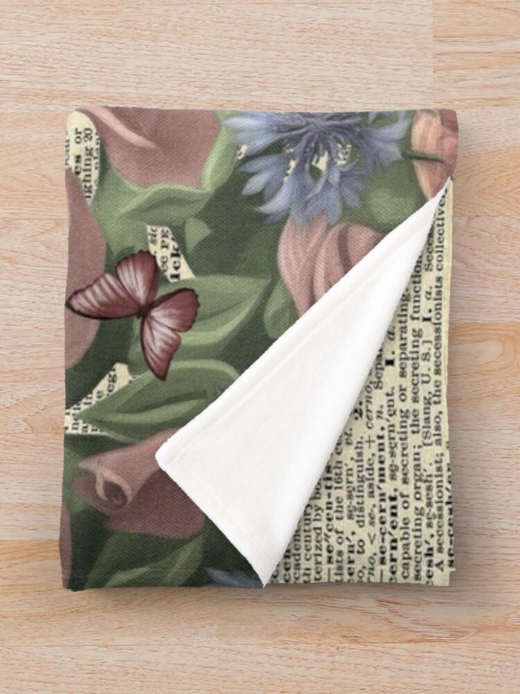 Alternate view of Alice In Wonderland - Wonderland Garden Throw Blanket