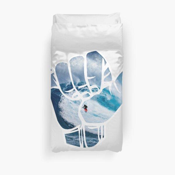 Surf Hang Loose - white Duvet Cover