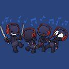 Ninja Dance Party by dooomcat