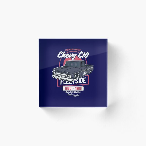 Chevy C10 - American Legend Acrylic Block