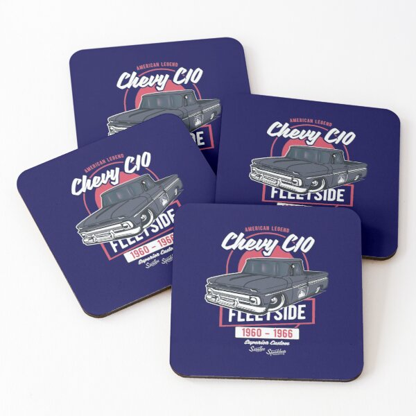Chevy C10 - American Legend Coasters (Set of 4)