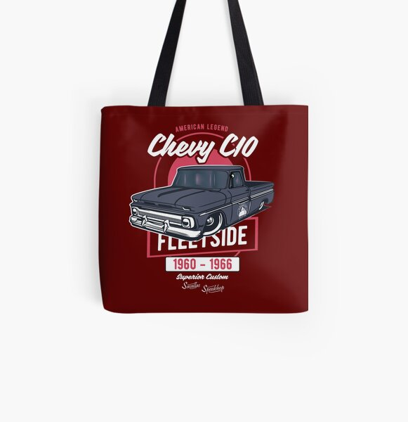 Chevy C10 - American Legend All Over Print Tote Bag