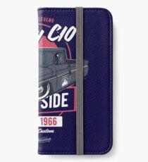 Chevy C10 - American Legend iPhone Flip-Case/Hülle/Klebefolie