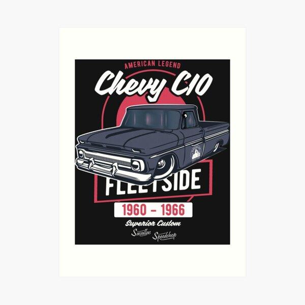 Chevy C10 - American Legend Art Print