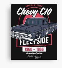 Chevy C10 - American Legend Leinwanddruck