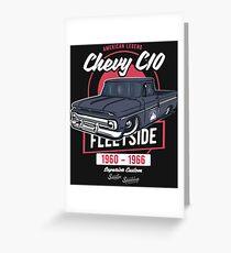 Chevy C10 - American Legend Grußkarte