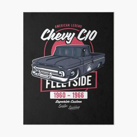 Chevy C10 - American Legend Art Board Print