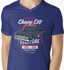 Chevy C10 - American Legend T-Shirt mit V-Ausschnitt