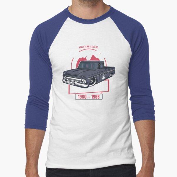 Chevy C10 - American Legend Baseball ¾ Sleeve T-Shirt