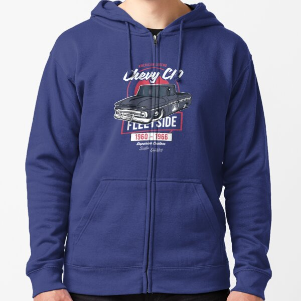 Chevy C10 - American Legend Zipped Hoodie