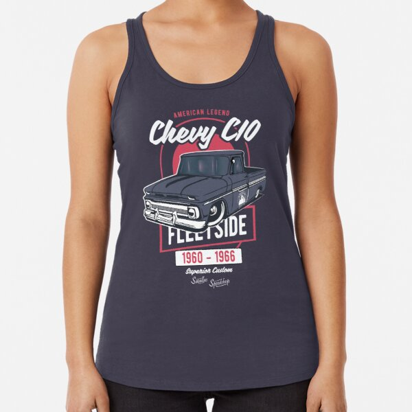 Chevy C10 - American Legend Racerback Tank Top