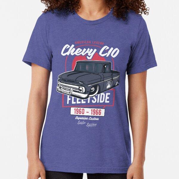 Chevy C10 - American Legend Tri-blend T-Shirt