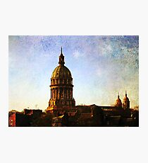 Early morning. Notre-Dame de Boulogne, France  Photographic Print