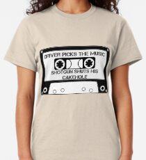 Driver Picks The Music... Classic T-Shirt