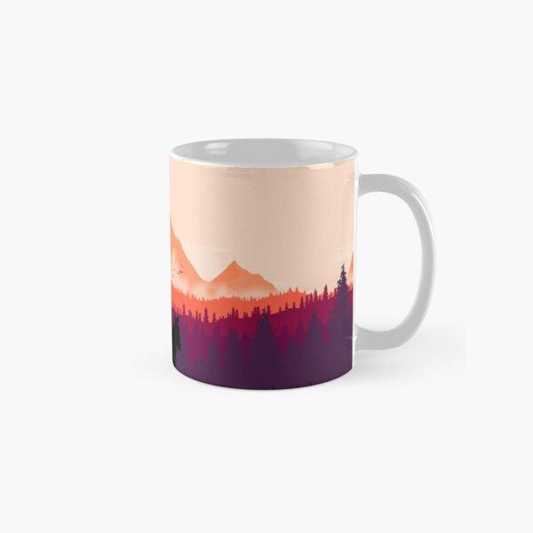 Far west sunset Classic Mug