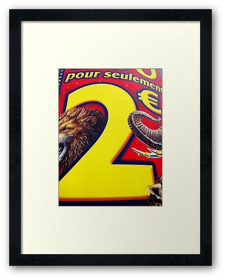 Circus poster, Boulogne, France by David Carton