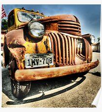 Old Pickup - Muenster , Texas Poster