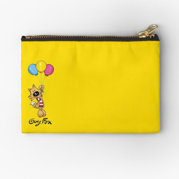 Guy Fox Balloons Zipper Pouch