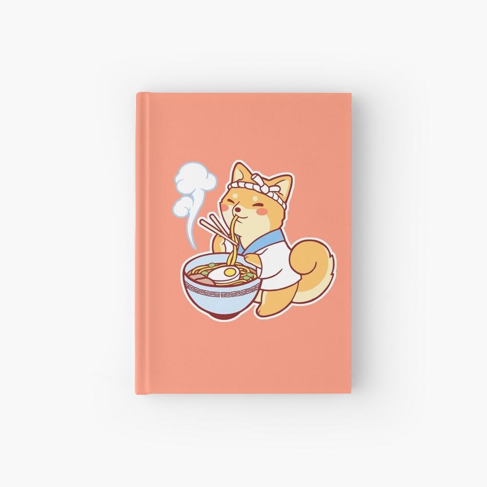 Ramen Shiba Hardcover Journal