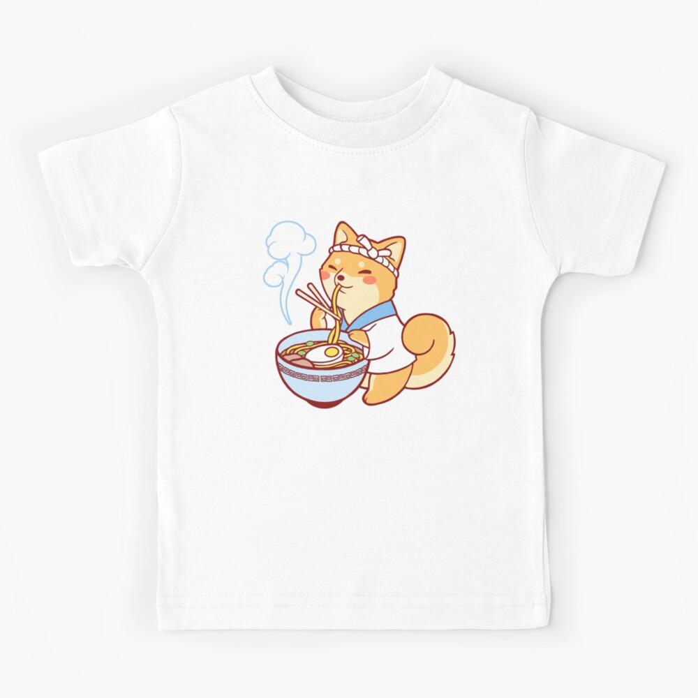 Ramen Shiba Kids T-Shirt