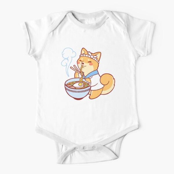 Ramen Shiba Short Sleeve Baby One-Piece