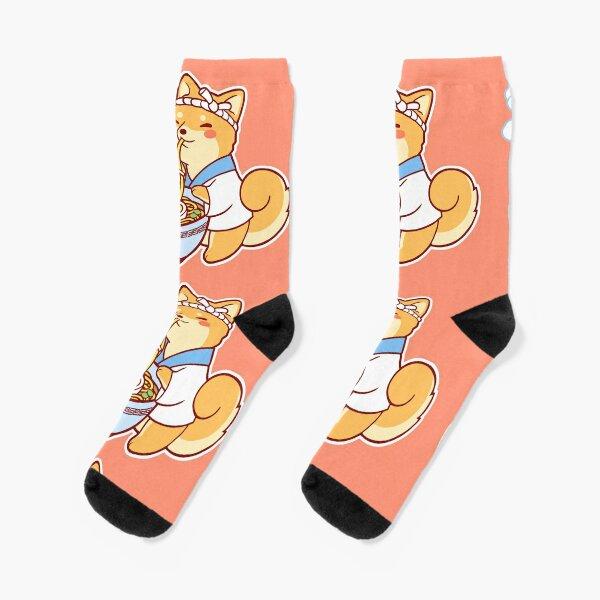 Ramen Shiba Socks