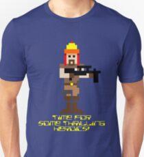 Firefly 8 Bit Thrilling Heroics T-Shirt
