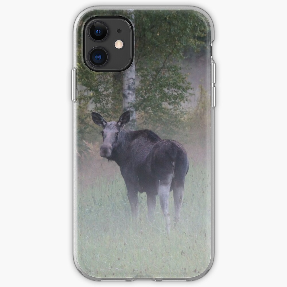 Misty Elk iPhone Case & Cover