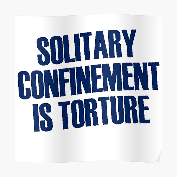 Solitario es tortura Póster