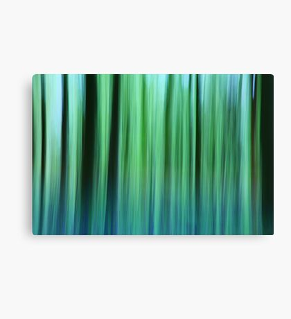 Bluebell Abstract Canvas Print