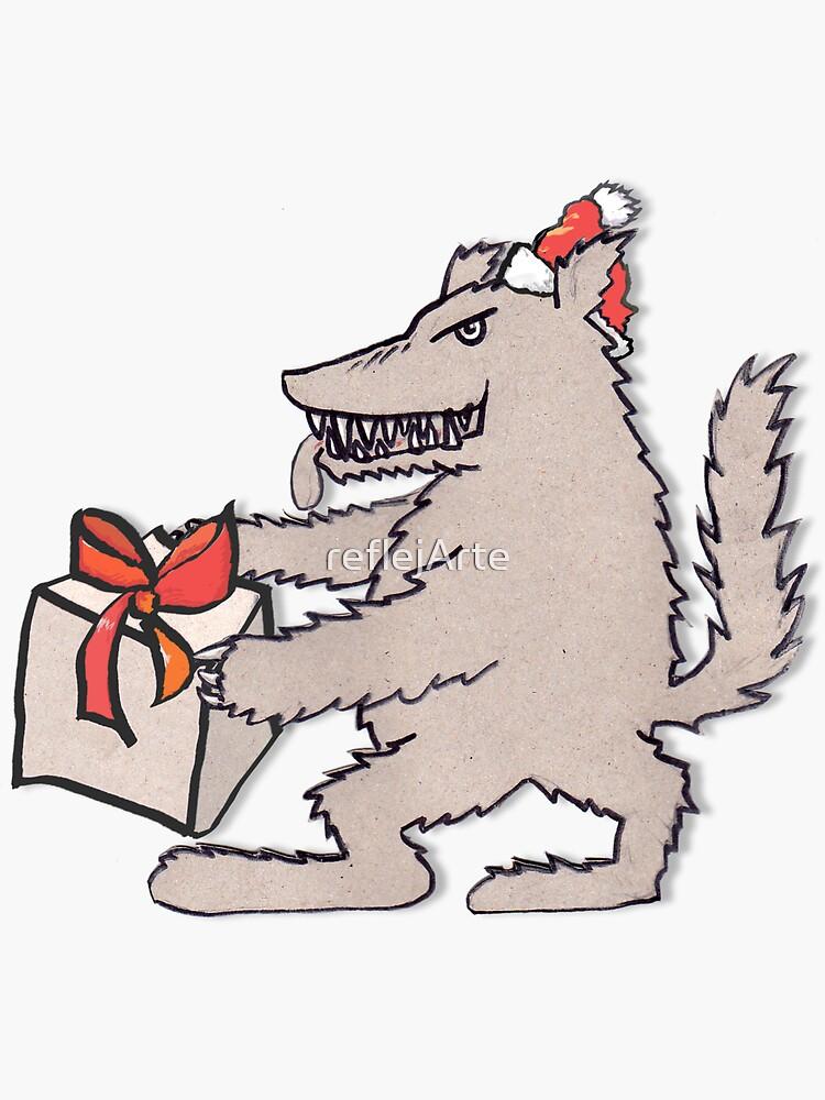 Santa Claus - I have a present for you, hoho! by reflejArte