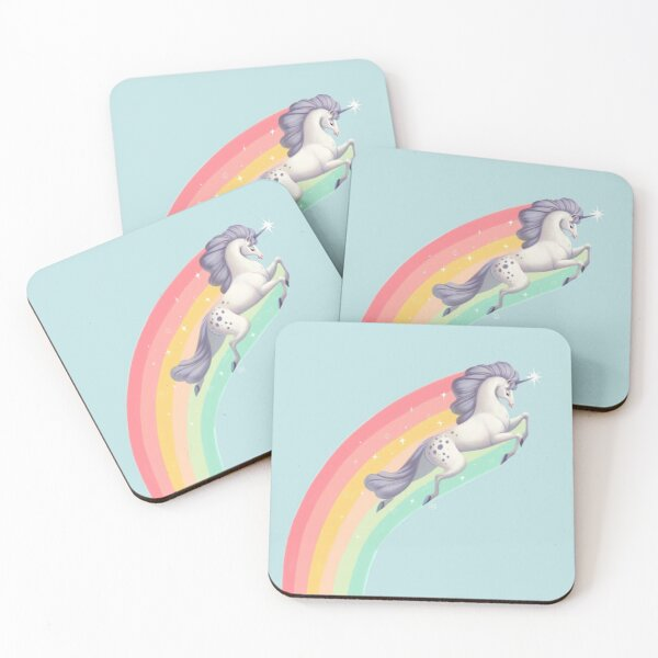 Fabulous Unicorn Coasters (Set of 4)