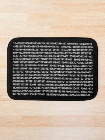PI White Bath Mat