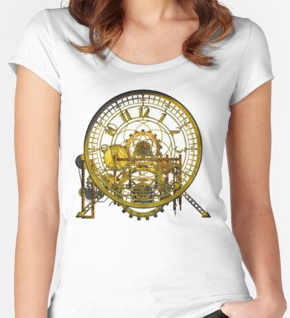 Vintage Time Machine #1C Women's Fitted Scoop T-Shirt