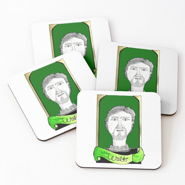 Knives Out  // Walt // Alternative Movie Poster Coasters (Set of 4)