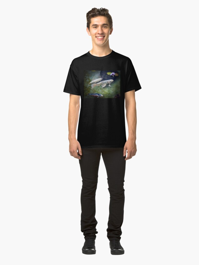 Alternate view of At The Koi Pond... Classic T-Shirt