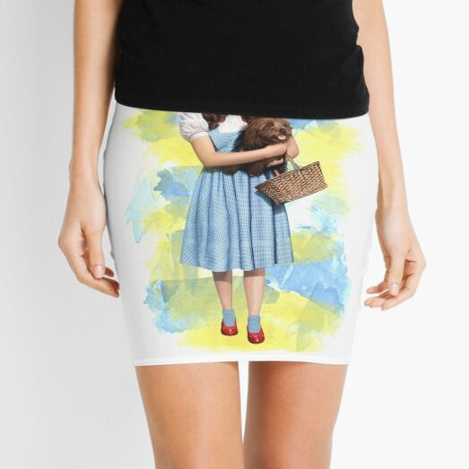 Dorothy Gale watercolors Mini Skirt
