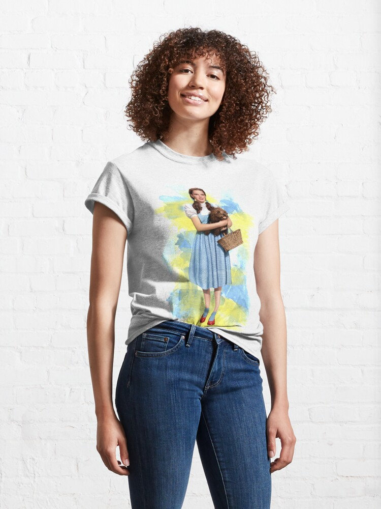Alternate view of Dorothy Gale watercolors Classic T-Shirt