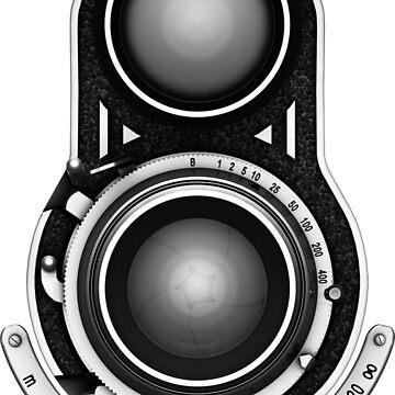 Vintage TLR Camera by SC001