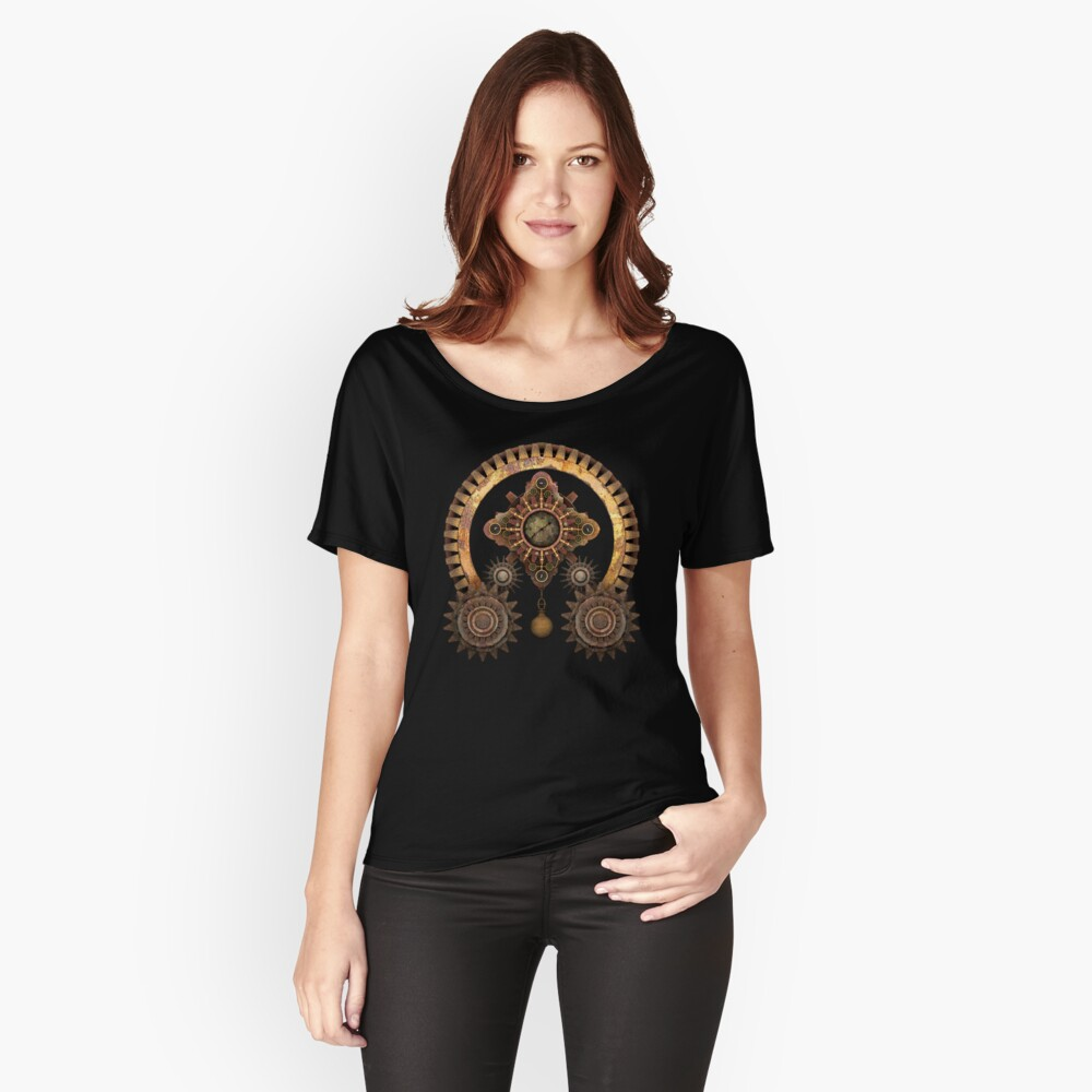 Vintage Steampunk Machine Thing Relaxed Fit T-Shirt